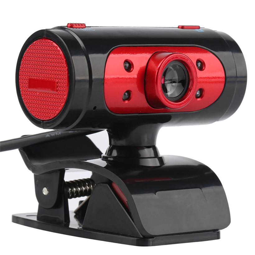Расширенный 2017 Камера новый веб-камера USB HD Webcam 720 P цифрового видео веб-Камера со встроенным Звуком Цифровой светодиодный оптовая продажа