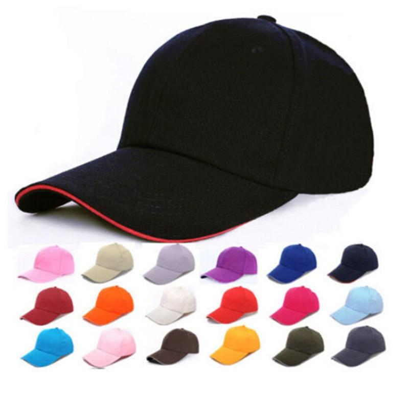hip hop custom baseball cap trucker fitted hat Full close cap blank whole closure women men's leisure flat caps