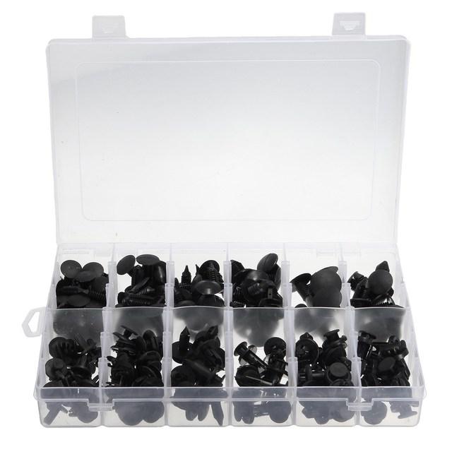 Set de 192 clips automotive push pin kit surtido de retención para toyota/honda/gm/ford 34201621 21030249 1595864