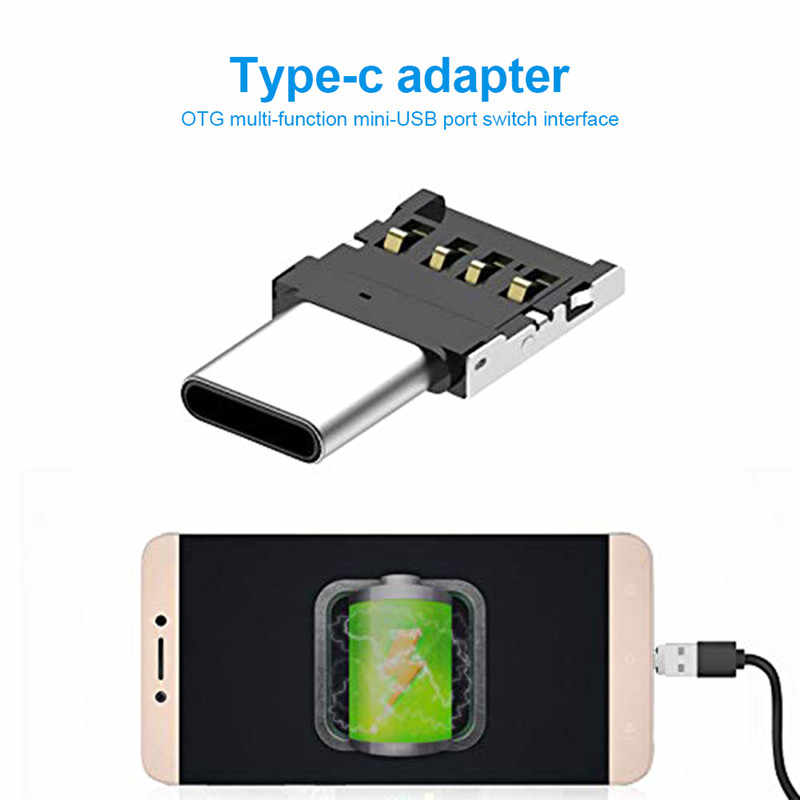 Type-C Adapter OTG Multi-function Converter USB Interface To Type-C Adapter Micro-transfer Interface For Android Phone Tablets