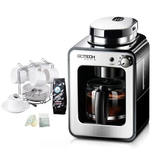 1pc CM6686A Full automatic coffee machine home / business new ...