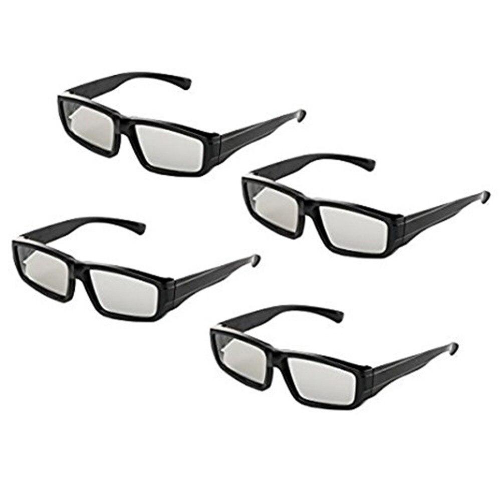 21a2c5290ac0 4pcs Family Pack Make Linear 45 135 0 90 Degree Imax 3D Glasses