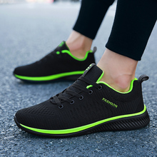 New Mesh Men Sneakers Lac-up Men Casual Shoes Spring Lightweight Breathable Walking Sneakers Tenis Feminino Zapatos WW-866-3