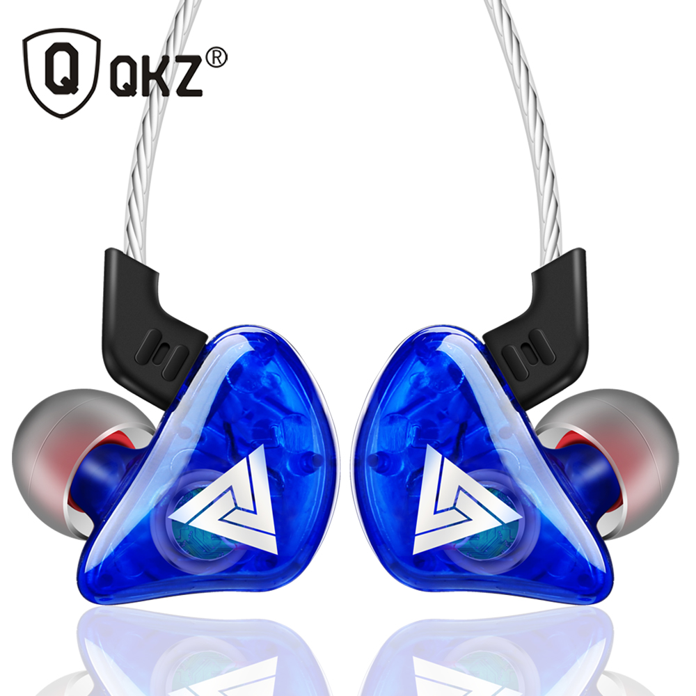 QKZ CK5 Cheap Headphones Earphones High Quality Fone de Ouvido Kulaklik Stereo Fone In Ear Monitor Bass Sport Earphone with Mic awei es 860hi super bass sound headphones stereo earphones metal headset in ear fone de ouvido auriculares kulaklik for phones
