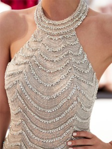 Image 5 - JaneVini יוקרה כבד ואגלי תחרת בת ים אמא של הכלה שמלות הלטר שרוולים סקסי ערבית פורמליות ארוך ערב שמלות