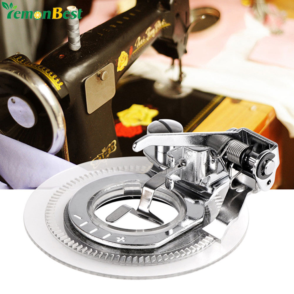 Daisy Flower Stitch Embroidery Presser Foot for Brother Singer