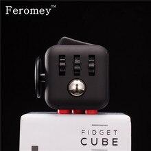 Original Quality Fidget Cube Toys Silicone Buttons Fidget Cube Anti Stress Fidget Stress Relieve Toys