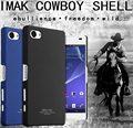 Imak Cowboy Fosco Duro Protetor da tampa do caso para o Xperia Sony Z5 Compacto Fosco Anti-impressão digital