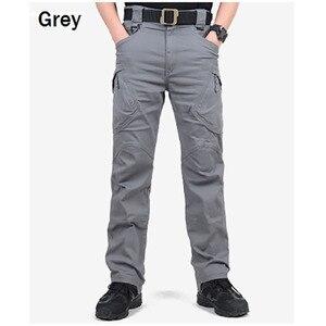 Image 3 - Marke ChoynSunday Tactical Cargo Hosen Männer Kampf Armee Militär Hosen Multi Taschen Stretch Flexible Mann Casual Hosen