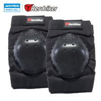 HEROBIKER Bicycle MTB Bike Motorcycle Riding Knee Protective Pads Guards Knee Pads Outdoor Sports Cycling Knee Protector Gear