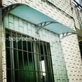 YP80200 80x200 cm 31.5x79infreesky diy dossel porta janela awningawning jardim policarbonato toldo
