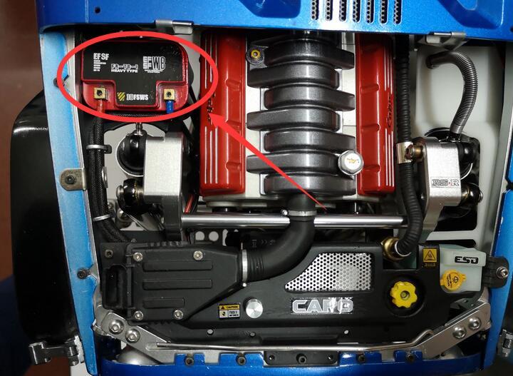 Ongeverfd Gesimuleerde Decoratieve Batterij Houder Kits Voor CD15827 voor RC Rock crawler 4x4 Truck Capo Jkmax wrangler JK wrangler-in Onderdelen & accessoires van Speelgoed & Hobbies op  Groep 1