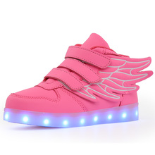 LED Lights Children Glowing Sneakers Kid Luminous Casual Shoes Spring Summer