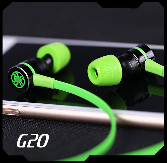 GEVO G20 In ear Headphone Magnetic Stereo Earbuds Gaming Headset Computer Earphone With Microphone For Xiaomi Samsung Phones
