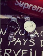 2016 Koren fashion Personal Men watch Women clock waterproof Quartz lover's wristwatches retro creative watches