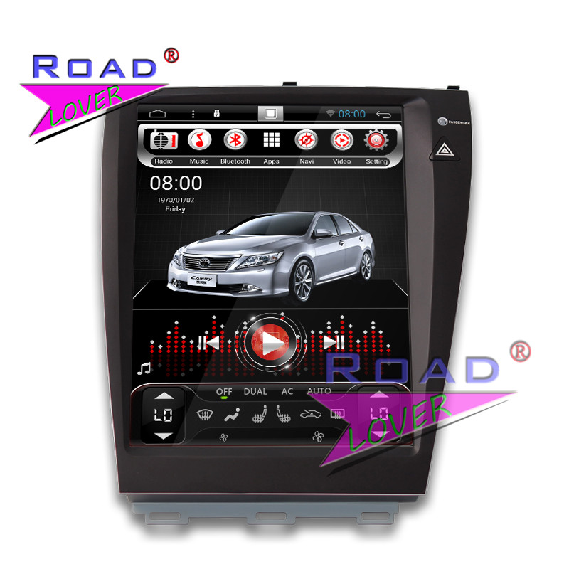TOPNAVI 12.1Inch 1G+16GB Android 4.4 Car PC System Multimedia Player For Lexus ES Stereo GPS Navigation Bing Screen Radio MP3