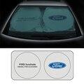 Автомобильное переднее заднее ветровое стекло теневое покрытие для защиты от солнца солнцезащитный козырек для Ford fiesta ranger Kuga focus mk2 mk3 fusion ...