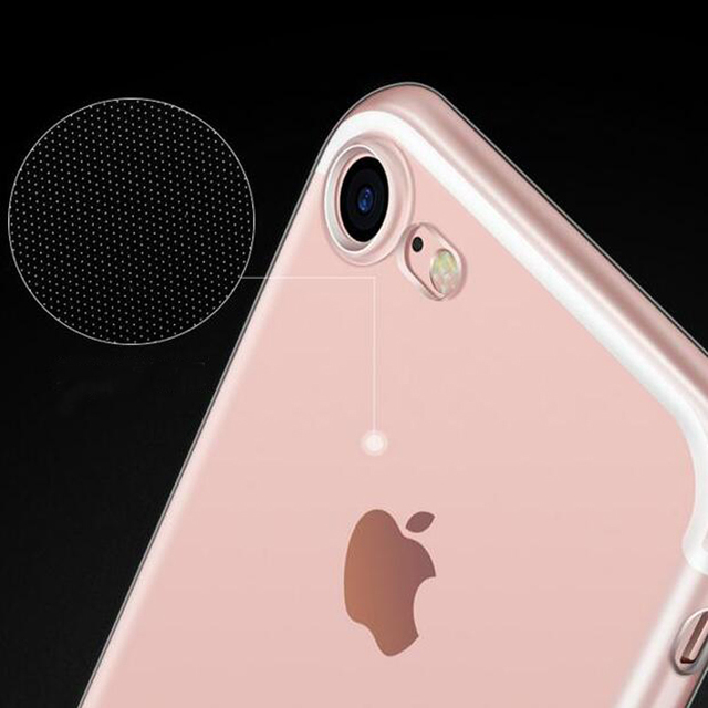 Ultra Thin Phone Case For iphone 11 12 PRO Mini 6 6S 7 8 Plus 5 5S SE X Xs Max Xr SE 2020 Transparent Soft Silicone Cover 6