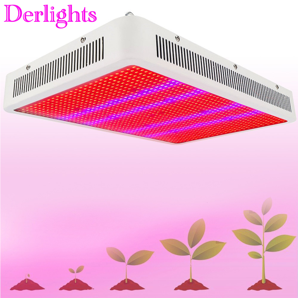 Derlights LED Grow Light 45W/300W/400W/800W/1200W/1600W/2000W Full Spectrum For Indoor Greenhouse Grow Tent Plants Grow Led Lamp