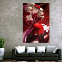 Home Decor Modular Canvas Picture 1 Piece Persona 5 Sexy Cat Game Painting Poster Wall For Wholesale