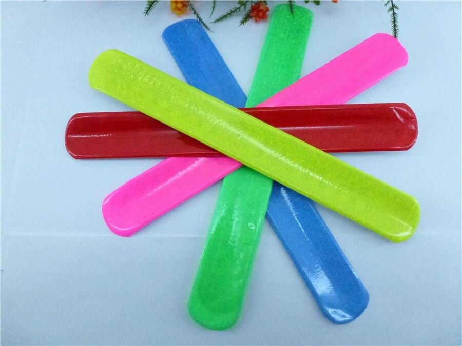 Vente chaude 10 pièces règle magique claque bande Bracelets bracelet