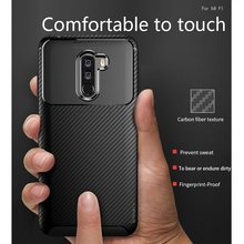 IPAKY For Xiaomi Pocophone F1 Case Soft Silicone TPU Back Cover Case for Xiaomi Pocophone F1 Poco F1 Case Shockproof phone Cover goterfly glass phone case 6 18 inch pocophone f1 painted protective back cover cases xiaomi pocophone f1 caso pocophon poco f1