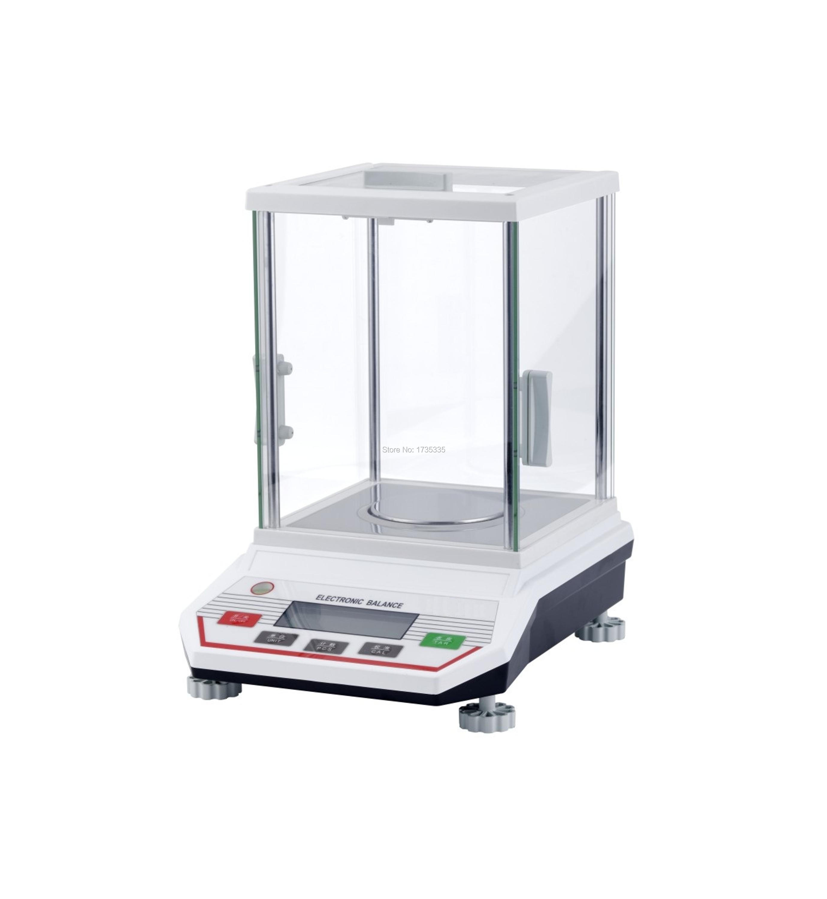 100g x 0.001g Professional lab Digital Balance Scale HC-B1003 with glass cover 800g electronic balance measuring scale with different units counting balance and weight balance