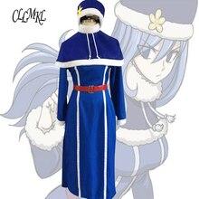 ハロウィンパーティー雪の少女コスプレ衣装 Juvia フェアリーテイルコスプレアニメ Lockser