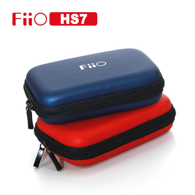 Fiio HS7 Carry CASE for Fiio X7 X5 X3 E18 E11K E10K Q1 markII A3 Portable Digital Accessories Carry Bags for Mobile Phone / MP3 fiio a3 silver