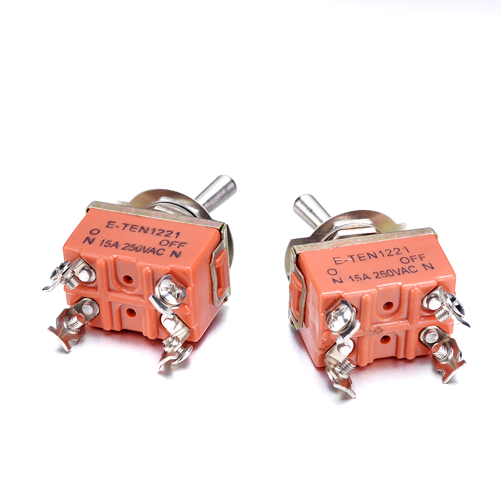 Lights & Lighting 2/4/10pcs Kn1221 250v 15a Toggle Switch Spst 4pins Terminal On Off Toggle Switch Mini Ac Or Dc Waterproof Touch Switch Vivid And Great In Style Switches