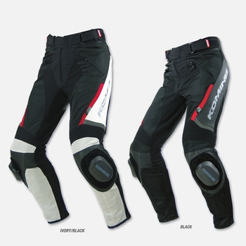 Hot sale! 2018 new leather  PK717 summer style mesh fabric leather MOtorcycle racing Pants Specials No grinding block.