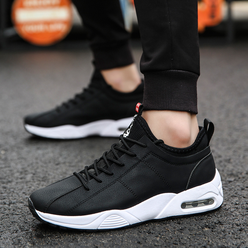 2018 new spring hot sales Spring and Autumn Breathable Flying air cushion breathable light flat walking outdoor athletic