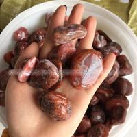 500 1000g Natural Southern Red Agate Polished Mineral Original Quartz Crystal Healing FFS Natural Stones And
