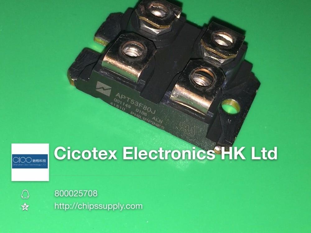 APT53F80J SOT-227 MODULE IGBT ISOTOPFON MOSFET N-CH 800V 57A SOT227 isp75n sot 223
