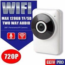 HD 720 P Мини Wi-Fi Ip-камера Ночного Видения Панорамный 180 градусов Беспроводной Монитор Младенца P2P 1.0MP CCTV Смарт-Камеры Безопасности посмотреть