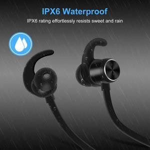 Image 2 - GOOJODOQ Bluetooth Earphone 4.1 Wireless Stereo IPX6 Waterproof In ear Sport Earbuds Bluetooth Earphone Magnetic Headphones