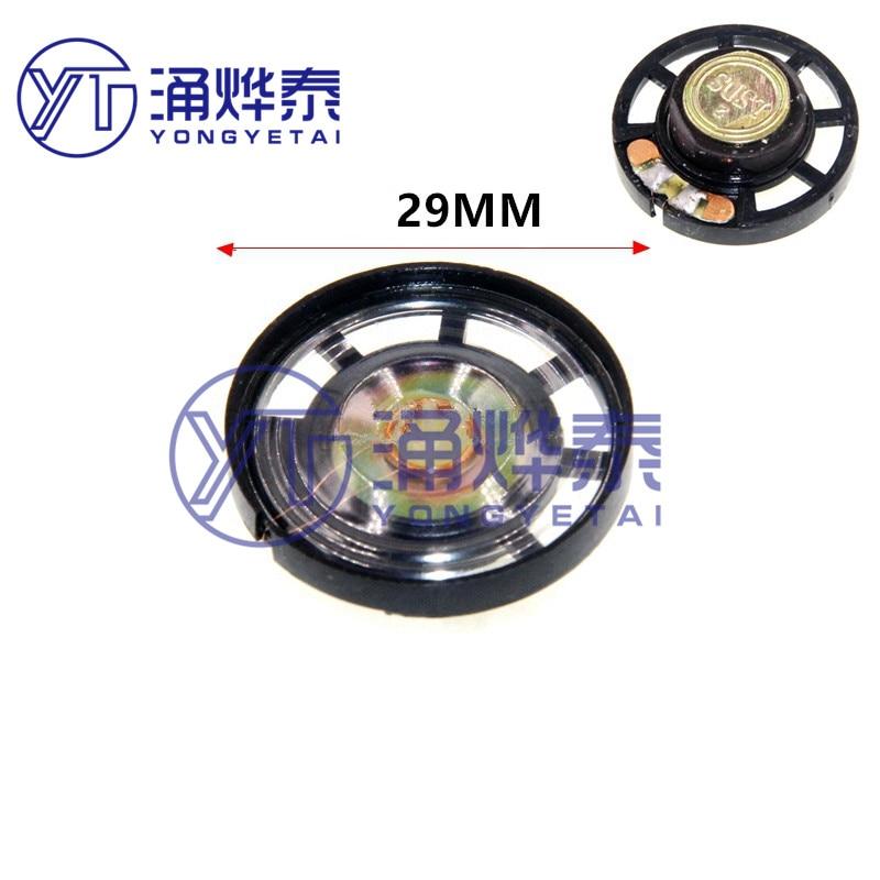 YYT 5PCS Toy plastic small speaker speaker 0.25W 8R external magnetic speaker MP3 voice small speaker