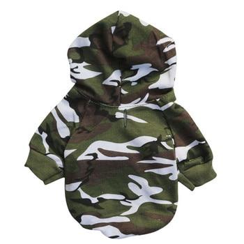 Camouflage Dog Hoodies