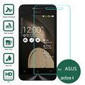 For asus zenfone 4 A400CG Tempered Glass Screen Protector 2.5 9h safety Protective Film on zenfone4 A400CXG a400 4.5 a450cg a450