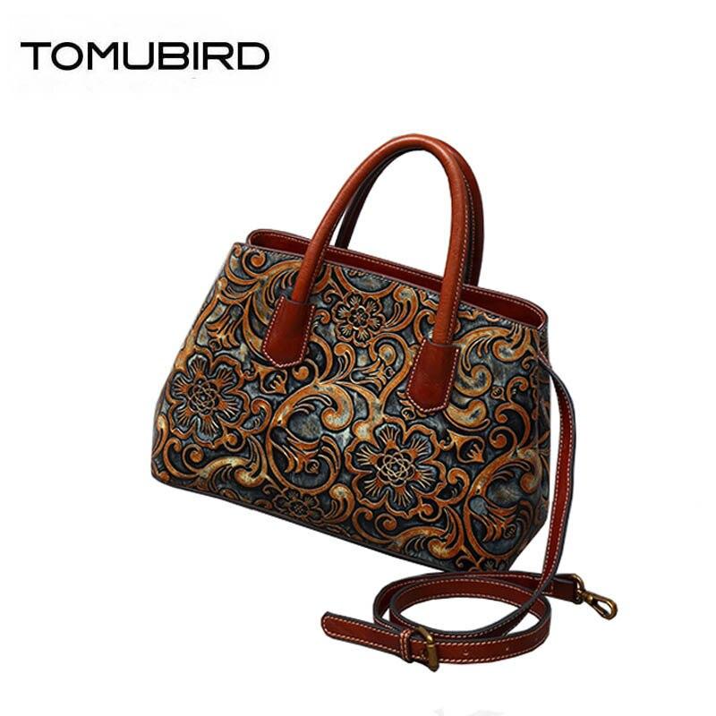 Black brown Leder Berühmte Marken Echtes Neue Überlegene Qualität Rindsleder Retro Taschen Handtaschen 2019 Frauen Geprägte qAxOFfwqB