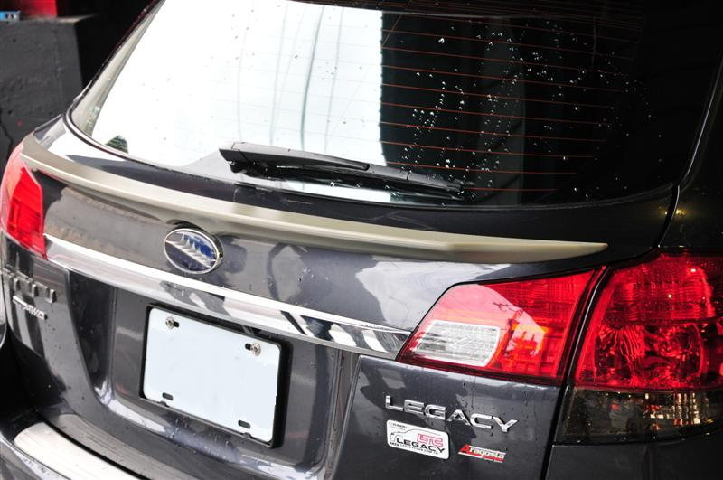 DASH Unpainted ABS Plastic made for Subar Legacy spoiler rear trunk 2009 wagon Outback