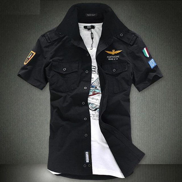 Airforce uniform military short sleeve shirts  2