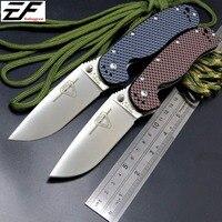 Newest RAT Folding Blade Knife D2 Blade Carbon Fiber Handle Tactical Knife Survival Camping Knives High