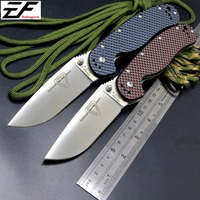 Newest RAT Folding Blade Knife D2 Blade Carbon Fiber Handle Tactical Knife Survival Camping Knives High
