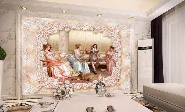 Marmer In Woonkamer : Aanpassen d behang home decor woonkamer d stijlvolle en