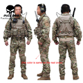 Wholesale ! EMERSONGEAR Tactical Combat uniform pants&shirt airsoft Multicam Military Camouflage hunting Ghillie Suits clothes