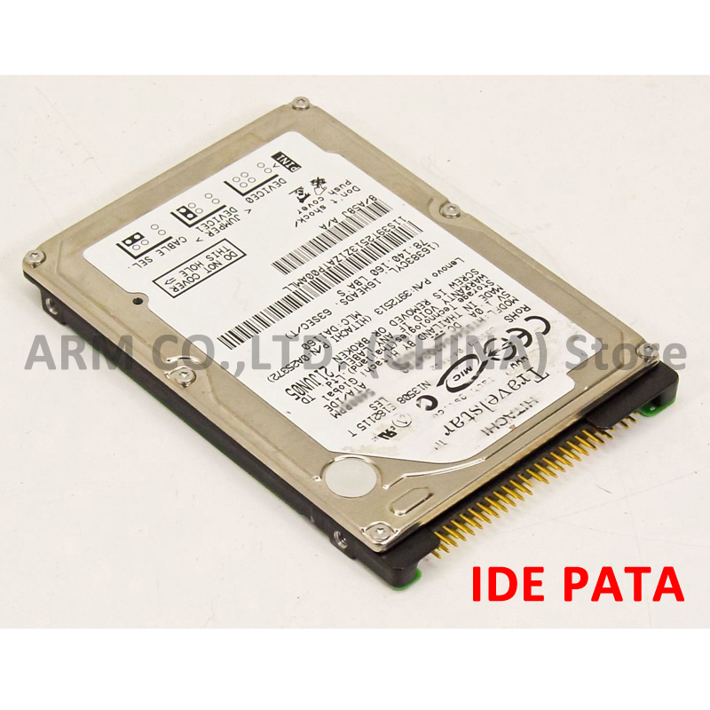 "HGST Brand 160GB 2.5"" IDE PATA 5400-7200rpm HDD Internal Hard Drives disk for Laptop Notebook disco duro interno 9.5mm 2"