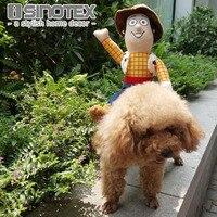 حار بيع ركوب الخيل الكلب كلب زي زي مضحك هالوين حفلة عيد كبير الكلب الملابس كاوبوي الكلب الملابس S-XL