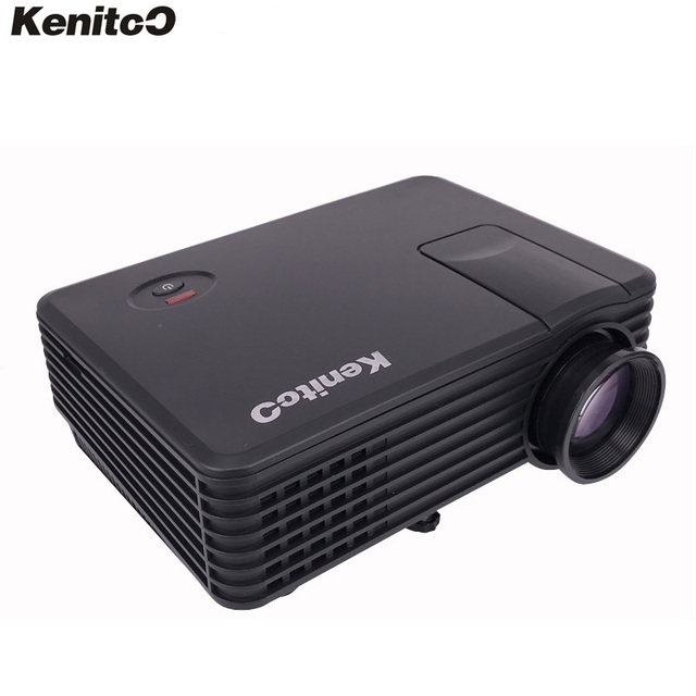 Kenitoo Projector KT-80L Mini LED Projector HDTV Home Theater 3D Projector 800*480 Resolution 180ANSI Lumens Free Shipping