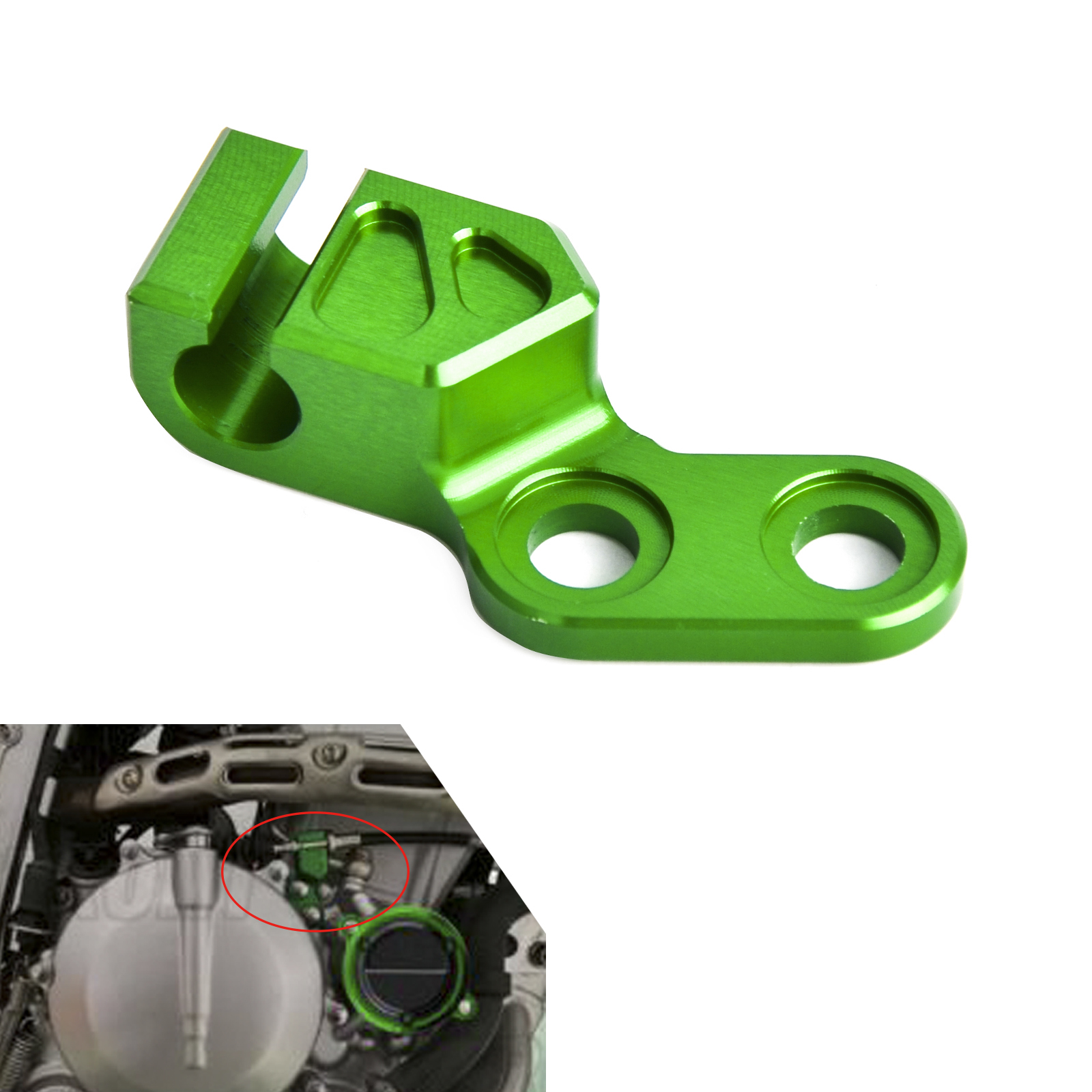Ltr450 Clutch Cable Holder Stopper